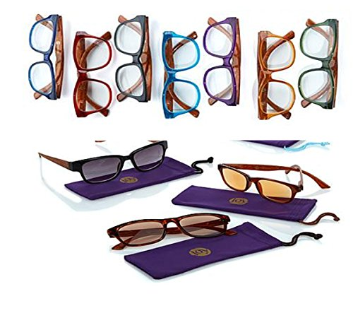 Joy Mangano 20-Piece Shades Readers Best of The Best Couture Edition ~3.50x (Of Bifocals The Invention)