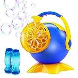 Portable Bubble Machine - Yaho Automatic Bubble Blower with 2 Bottles of Bubbles