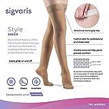 SIGVARIS Women's Style Sheer 780 Closed Toe