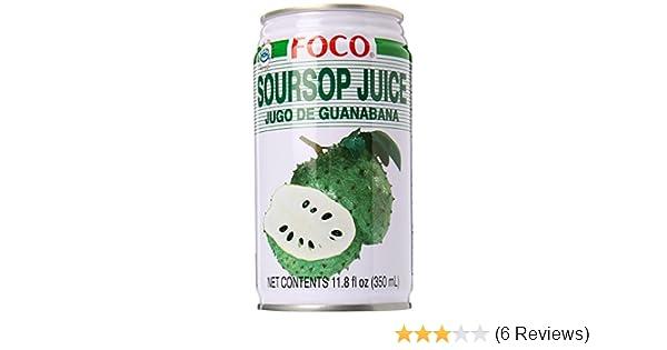 amazon com foco soursop juice drink jugo de guanabana graviola rh amazon com