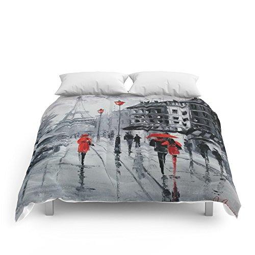 Society6 Paris Comforters Full: 79