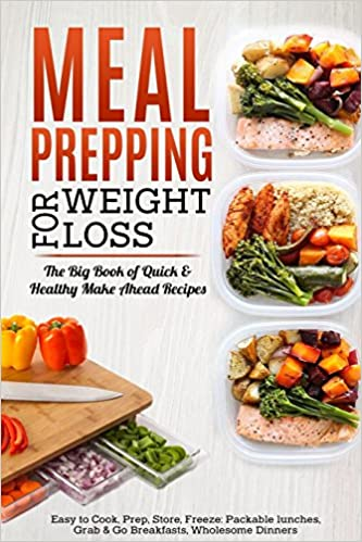 meal prepping for weight loss the big book of quick healthy make
