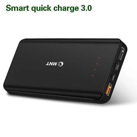 EMNT Cargador portátil, USB-C, Carga rápida 3.0 Batería ...