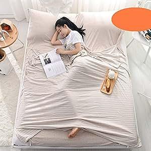 Amazon.com: Jinsshop - Saco de dormir para hotel, 100 ...