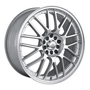"""Sacchi S25 225 Hypersilver Wheel with Machined Lip (18x7.5""""/10x100mm)"""