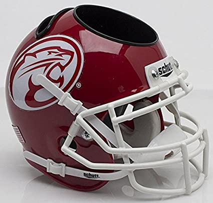 Houston Cougars Miniature Football Helmet Desk Caddy - Licensed NCAA Memorabilia - Houston Cougars Collectibles