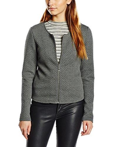 Women's Melange Medium Blazer Grey Long Vila Sleeve 14032657 Grey Blouson Zvzndg