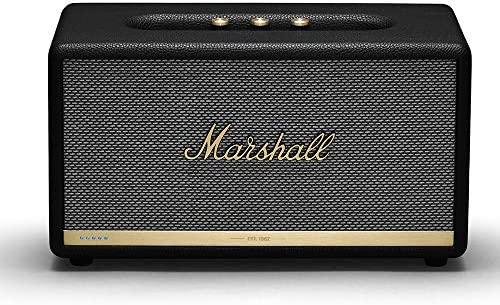 Marshall Stanmore II Wireless Wi-Fi Alexa Voice Smart Speaker – Black