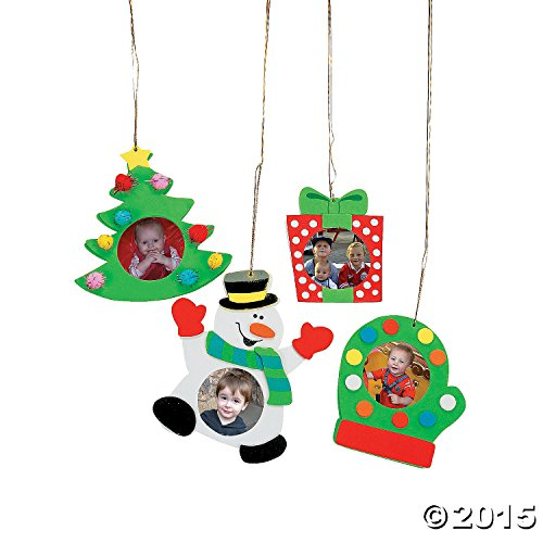 Christmas Holiday Picture Frame Ornament