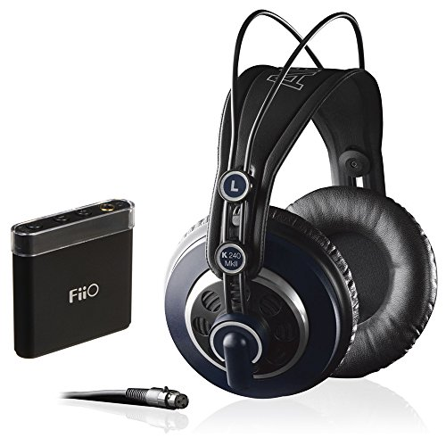 AKG K 240 MK II Professional Semi-Open Stereo Headphones with FiiO A1 Portable Headphone Amp