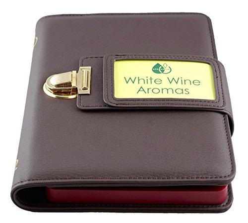 White Wine Aroma Kit - 12 Aromas (incl. Wine Aroma Wheel) (Wine Kit Aromas White)