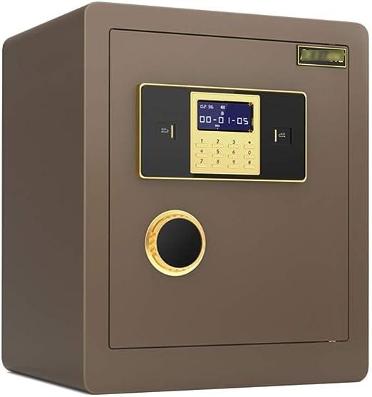 Cajas fuertes Caja fuerte de seguridad antirrobo de acero: caja de ...