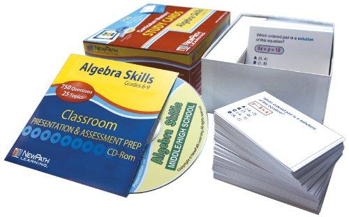 Newpath lernen Algebra Fähigkeiten Studie Karte, Stufe 6–10