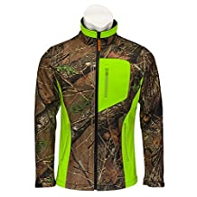 Trail Crest Women's Camo & Neon Colors Custom Soft Shell Waterproof Jacket