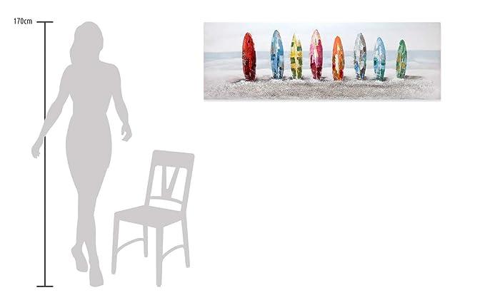 Kunstloft® Cuadro en acrílico Siesta Surfista 150x50cm ...