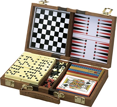 Mainstreet Classics 6-in-1 Travel Game Set