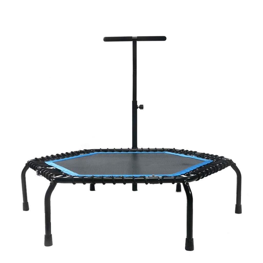 トランポリン、低ノイズ、安全かつノンスリップ、高さを高めるために子供を形作るのに適した家庭用折り畳みは、150KG、50インチに耐えることができる   B07MBSXMZ3