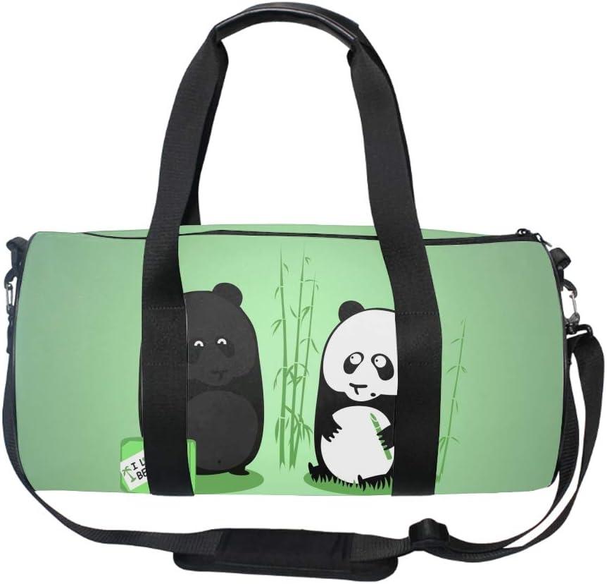 Funny Deer Gym Duffle Bag Drum tote Fitness Shoulder Handbag Messenger Bags