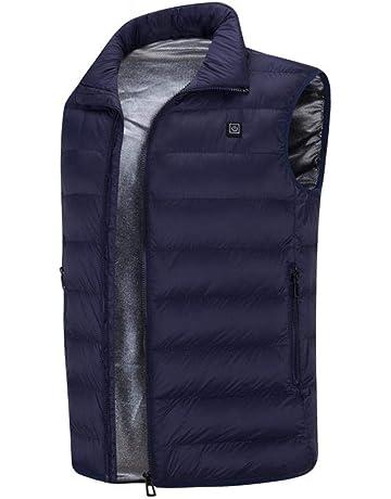 kati-way Gilet Chauffant Homme Hiver, Vêtement Chauffante Electrique USB  Doudoune et Gilet sans bfefa756fc1