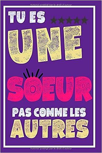 Ma Soeur Préférée Carnet De Note Un Cadeau Original Pour