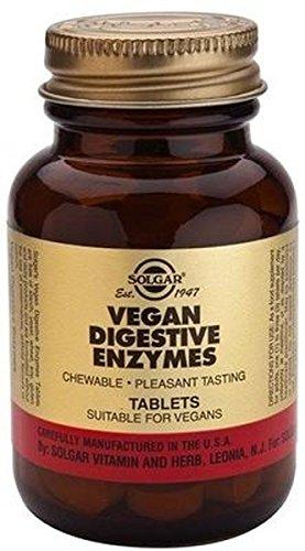Vegan Enzimas Digestivas 250 comprimidos masticables de ...