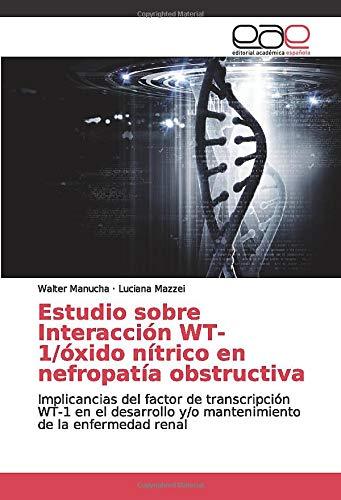 Estudio sobre Interacción WT-1/óxido nítrico en nefropatía ...