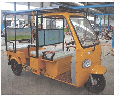 Electric Three Wheel SOLAR Motor Vehicle