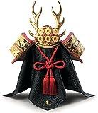 リヤドロ 五月人形 兜平飾り 兜飾り Lladro 磁器人形 兜 Red 袱紗 台座付 h315-01013048