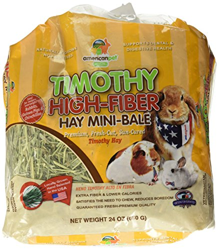 (American Pet Diner Timothy High-Fiber Hay, 24 Oz. By Unknown)