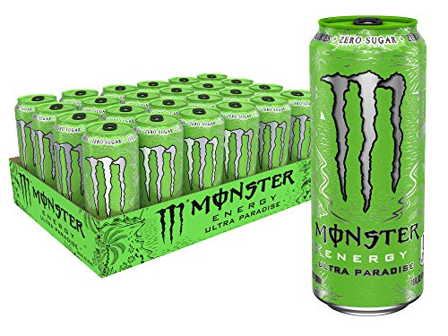Monster Energy Ultra Paradise, Sugar Free Energy Drink, 16 oz (Pack of - Paradise Sand