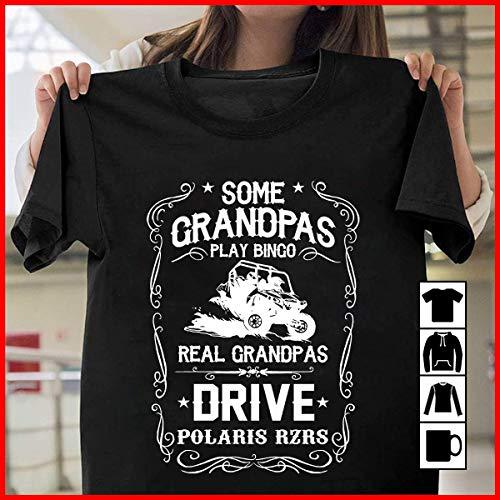 Driver Real Grandpas Drive Polaris Rzrs T Shirt Long Sleeve Sweatshirt Hoodie Youth
