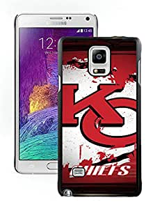 DIY Custom Phone Case For Samsung Note 4 Kansas City Chiefs 12 Black Phone Case For Samsung Galaxy Note 4 N910A N910T N910P N910V N910R4