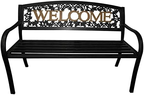 Peachy Amazon Com Leigh Country Tx 94108 Black And Gold Welcome Evergreenethics Interior Chair Design Evergreenethicsorg