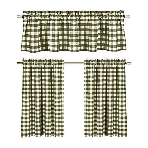 Farmhouse Kitchen Curtains Cool Design Ideas