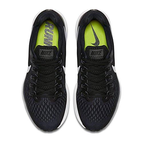 NIKE Women's Air Zoom Pegasus 34 Black/White Dark Grey Running Shoe 10 Women US by NIKE (Image #3)