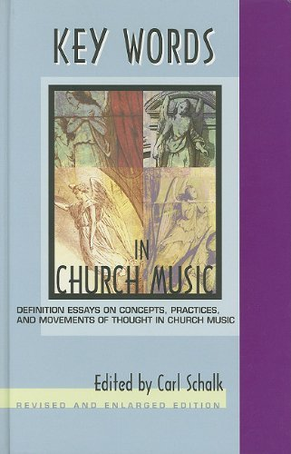 Download Key Words in Church Music: Definition Essays on Concepts, Practic (Rev Enl) (2004-01-16) [Hardcover] ebook