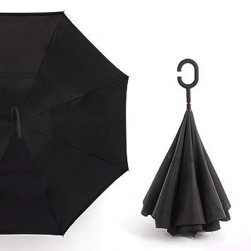 design de qualité 9c687 f2365 CiMi Parapluie Inversé Innovant Anti-UV Double Couche Coupe ...