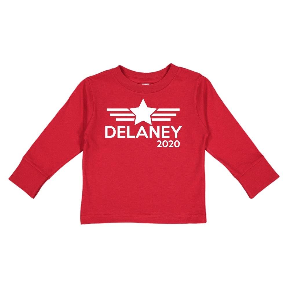 Mashed Clothing Delaney 2020 Presidential Election 2020 Toddler//Kids Long Sleeve T-Shirt