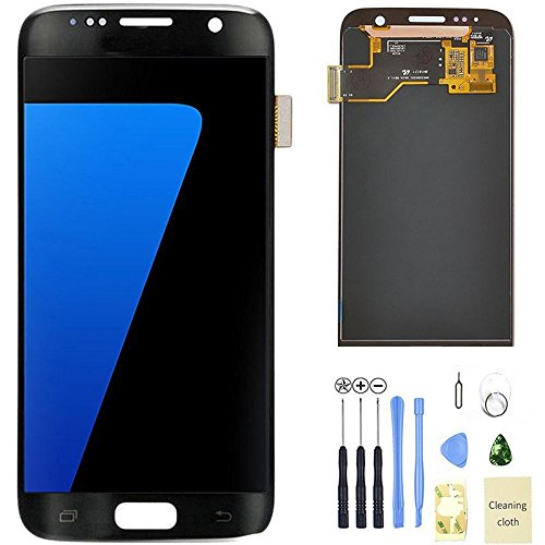Eachbid LCD display Digitizer Touch Screen Assembly for Samsung Galaxy S7 SM G930 G930F G930A G930V G930P With 11 in 1 Tools Kits Black by Eachbid (Image #1)