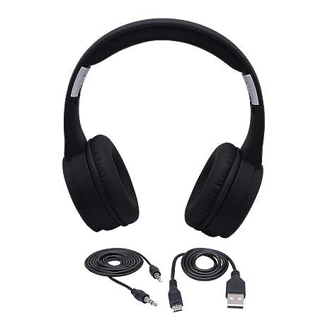 Auriculares inalámbricos Bluetooth Auriculares estéreo para Juegos para PS4, PC, Controlador de Xbox One
