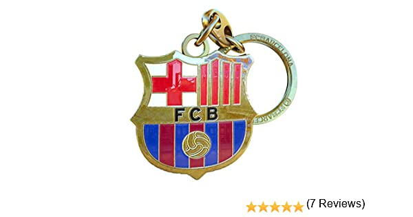 Llavero FC Barcelona Escudo Dorado: Amazon.es: Deportes y aire libre