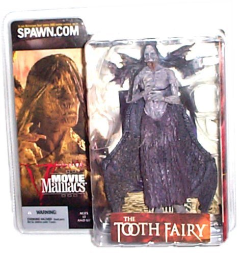 McFarlane - Movie Maniacs - Series 5 - The Tooth Fairy/Darkness Falls - Tooth Fairy feature film figure (Open Mouth Variant) w/accessories (Horror Film Figures)