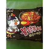 [Korean Noodle] Samyang Stir-fried Noodles with Hot and Spicy Chicken Ramen 삼양 불닭 볶음면