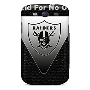 New Arrival Cover Case With Nice Design For Galaxy S3- Oakland Raiders