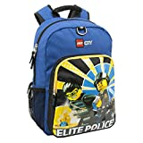 LEGO City Heritage Classic Backpack, Blue, One Size