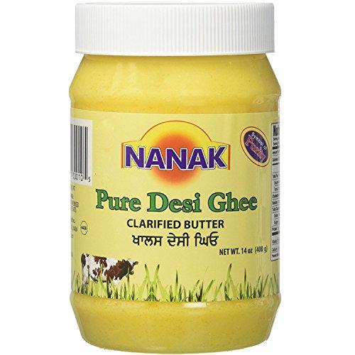 Pure Desi Ghee NANAK Natural No MSG 14 fl Oz by Nanak