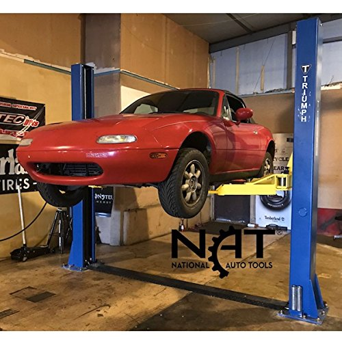 Triumph NT-9 9000lbs Two Post Floor Car Lift