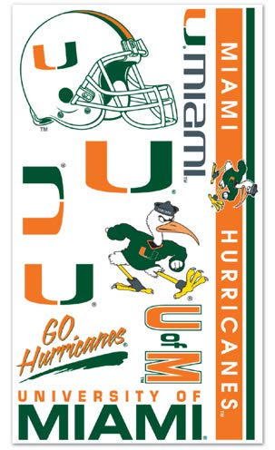 Miami Hurricanes Temporary Tattoos ()