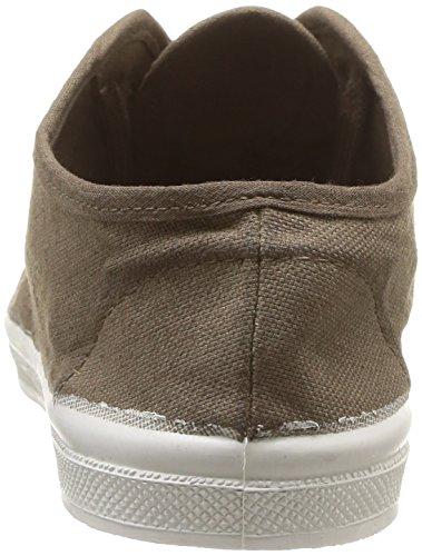 Bensimon Ten Lacet Enfant, Unisex - Kinder Sneaker Beige - Beige (Beige 118)