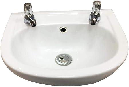 etit vestiaire Vasque/lavabo - 2 trous de robinet 350 mm de ...